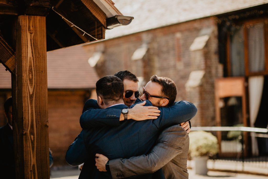 long furlong barn wedding 11