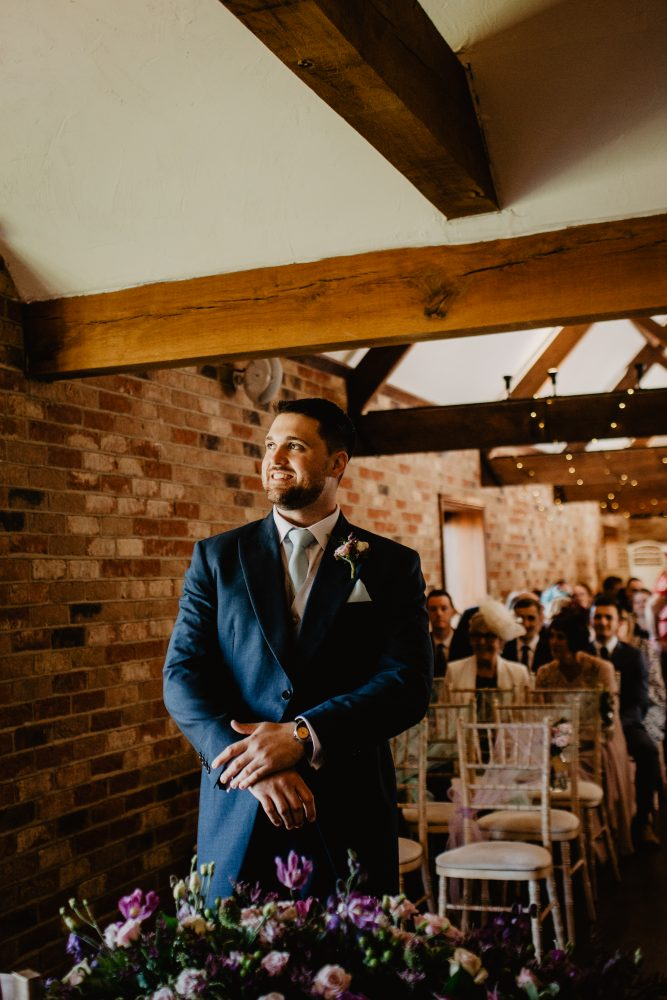 long furlong barn wedding 13