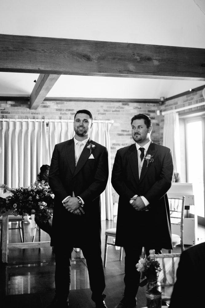 long furlong barn wedding 15