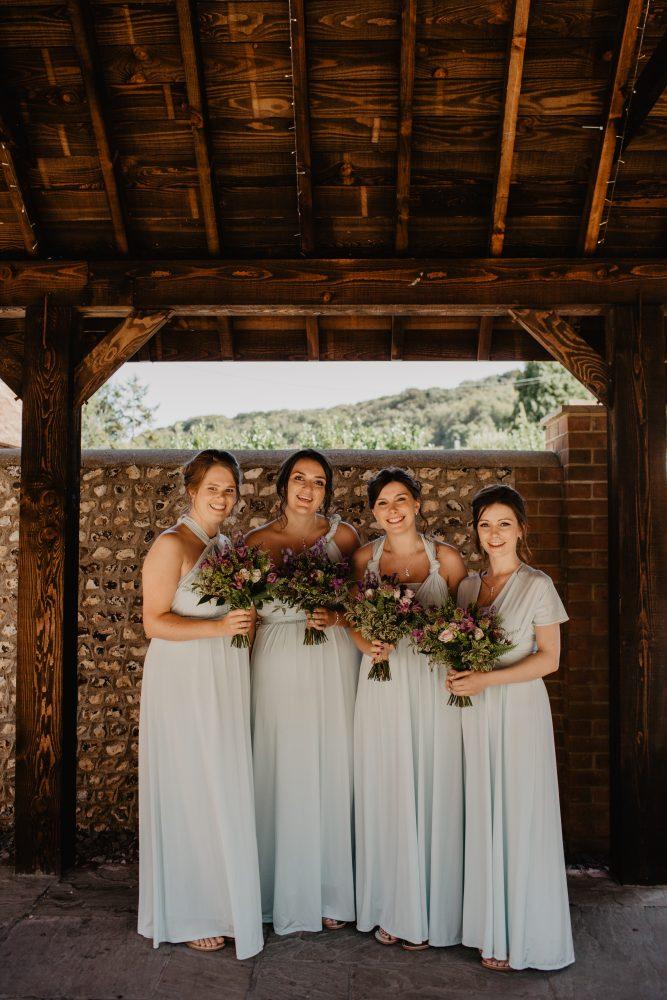 long furlong barn wedding 17