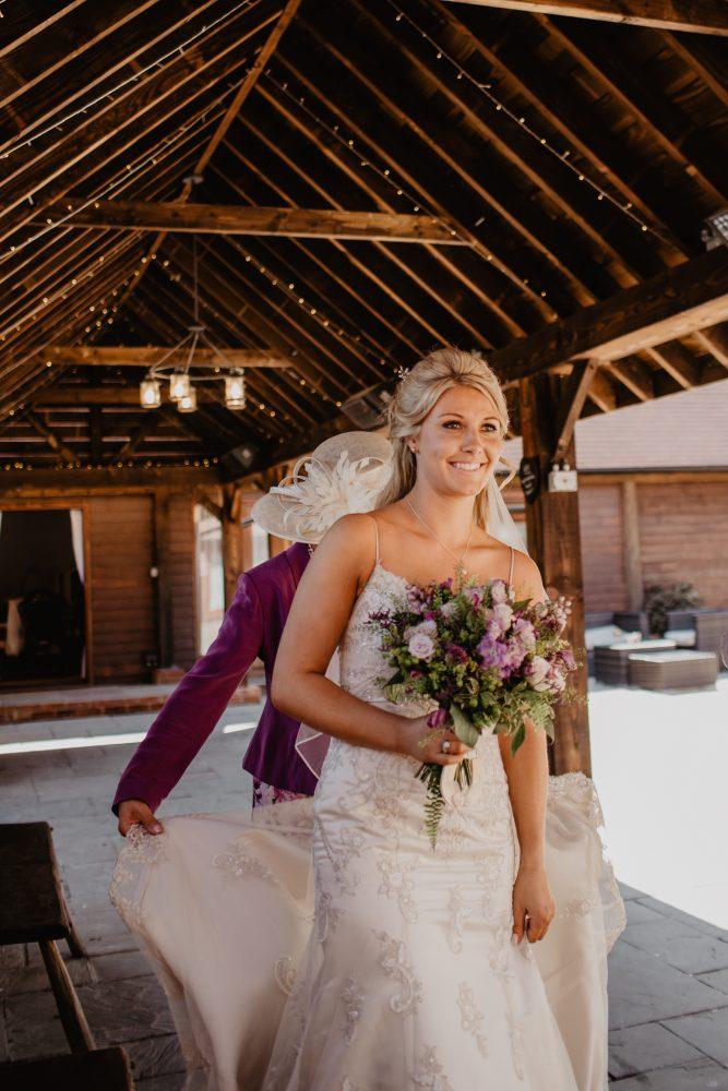 long furlong barn wedding 24