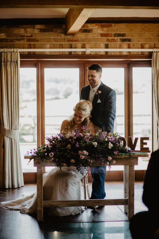 long furlong barn wedding 39
