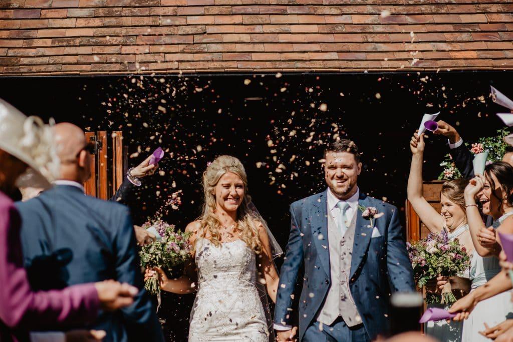 Long Furlong Barn Wedding Photography