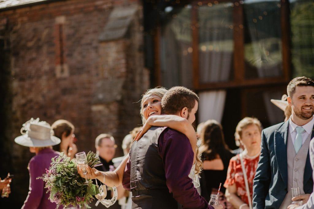 long furlong barn wedding 50