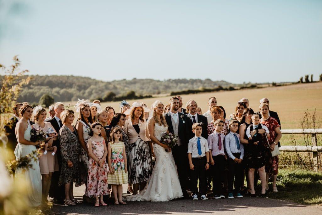 long furlong barn wedding 59