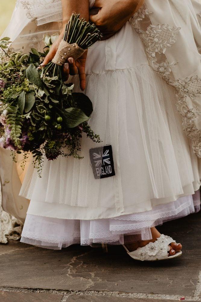 long furlong barn wedding 60
