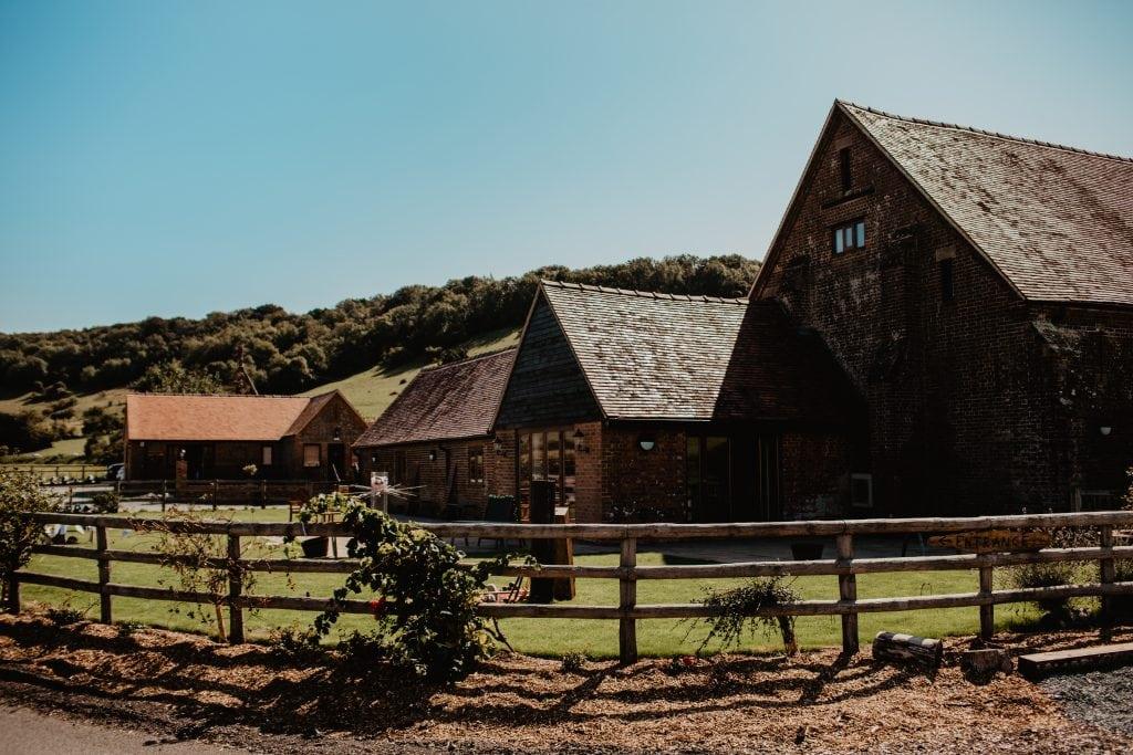 long furlong barn wedding 75
