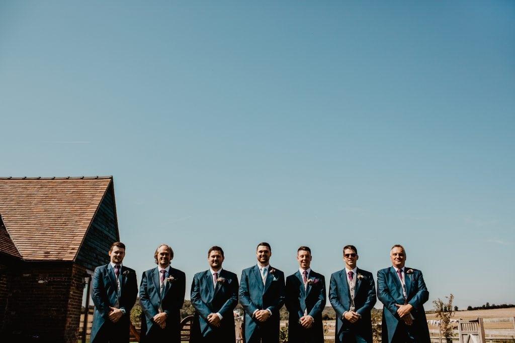 long furlong barn wedding 80