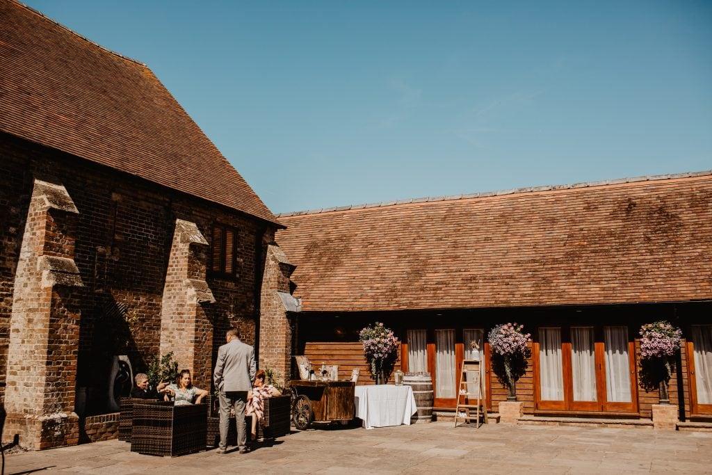 long furlong barn wedding 81