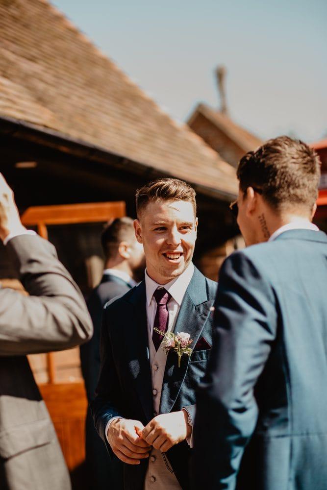 long furlong barn wedding 83