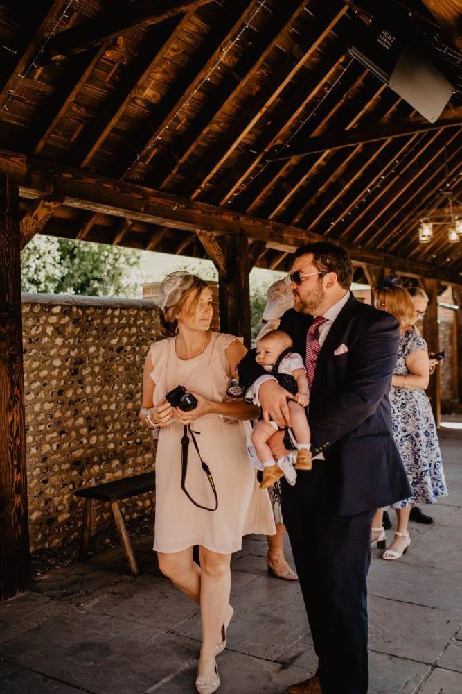 long furlong barn wedding 84