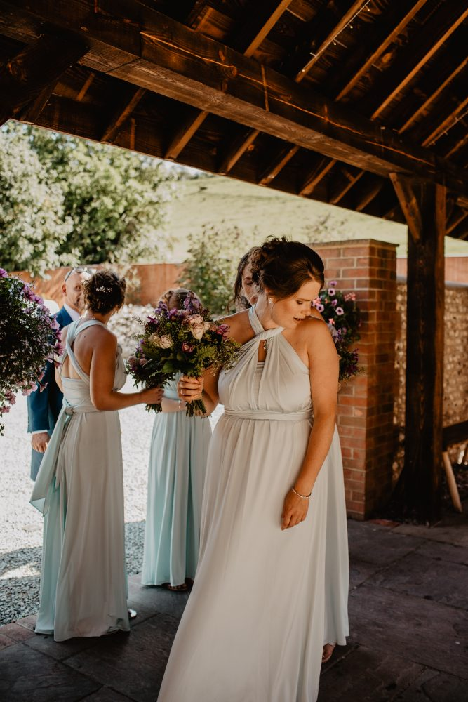 long furlong barn wedding 85