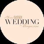 Your Sussex Wedding Badge Cream