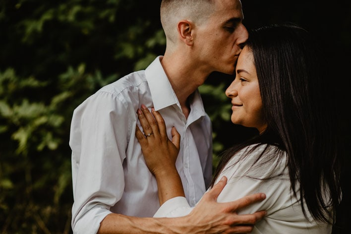 Steyning Engagement Photography Bramber Castle 03