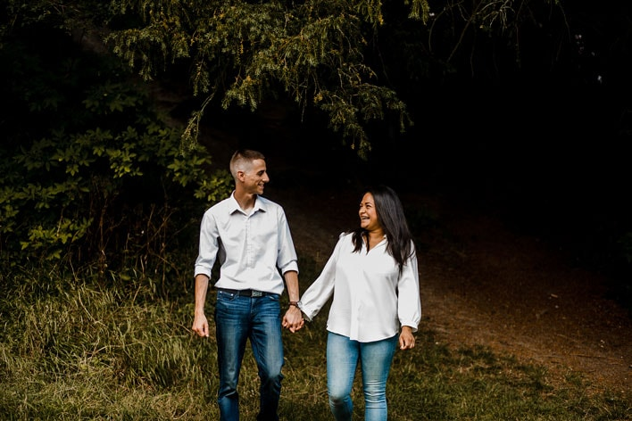 Steyning Engagement Photography Bramber Castle 04