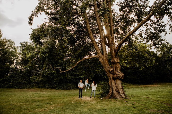 Steyning Engagement Photography Bramber Castle 09