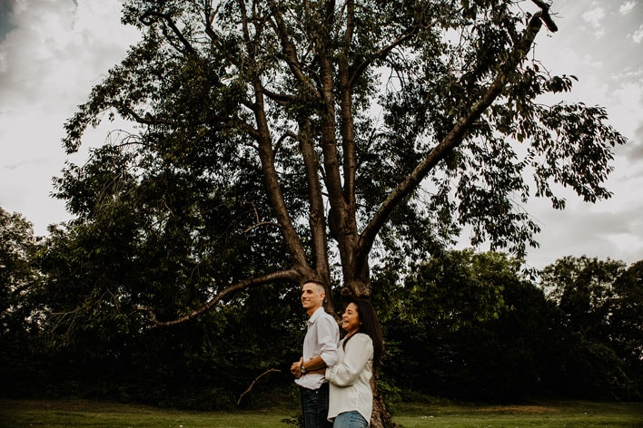 Steyning Engagement Photography Bramber Castle 10