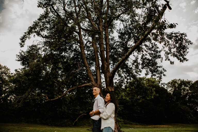 Steyning Engagement Photography Bramber Castle 12
