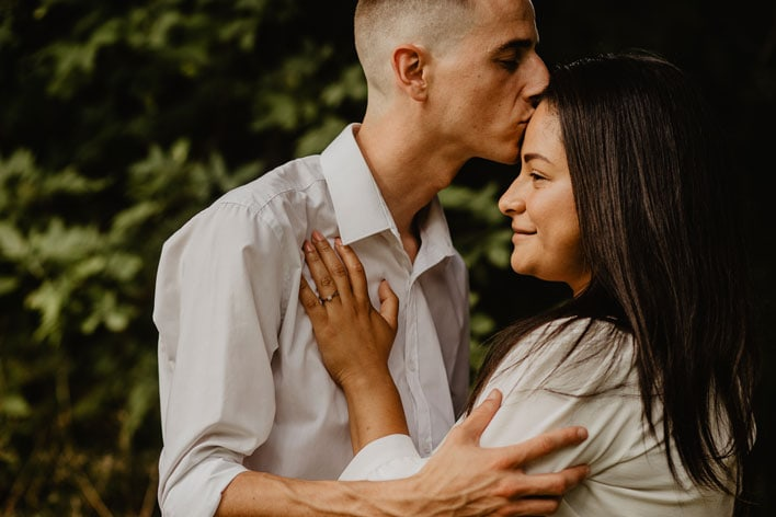 Steyning Engagement Photography Bramber Castle 13