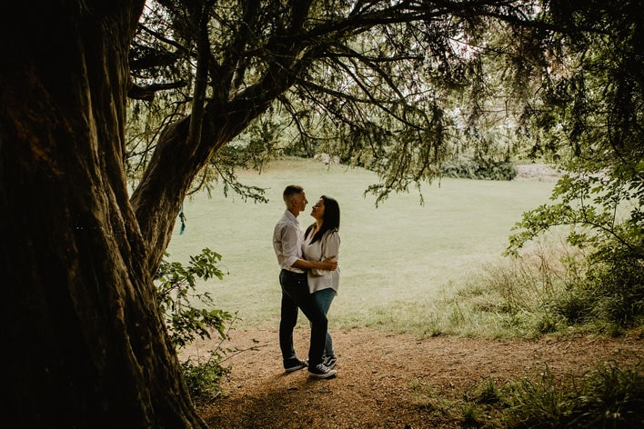 Steyning Engagement Photography Bramber Castle 14