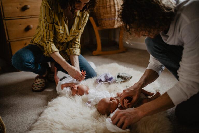 newborn twins photography sussex 6